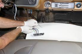 tech installing rack and pinion steering on a c10 pickup