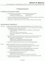 college instructor resume best resume collection