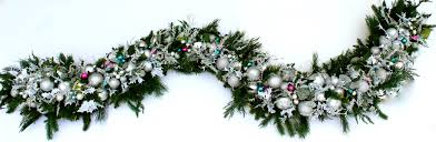 christmas garland luxury christmas garland prelit corded staircase or mantel