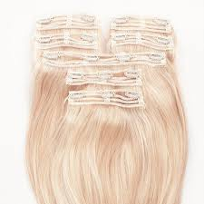 in hair extensions ombre hair extensions set milk blush uk