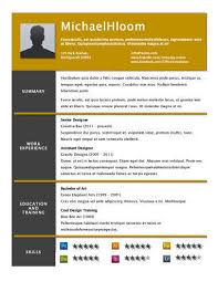 unique resume template these are the best worst fonts to use on