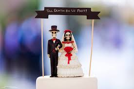 day of the dead wedding cake topper till do us part elliot nichol photography east