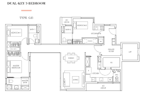 floor plan key highline residences floor plan 3 bedrooms dual key highline