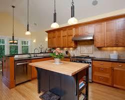 Kitchen Design Cherry Cabinets by Cherry Cabinet Backsplash Houzz