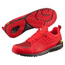 ferrari shoes puma ferrari pitlane 1 5 trainers puma shoes rosso corsa rosso