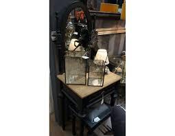 coiffeuse chambre coiffeuse chambre en bois avec miroir oval