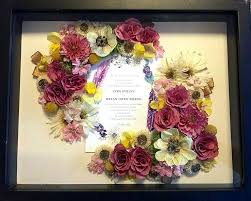 wedding bouquet preservation wedding bouquet preservation kit floral shadow box exle 4 i