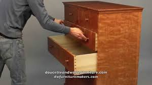 Doucette And Wolfe Furniture by Curly Cherry Chest Of Drawers Handmade By Doucette And Wolfe