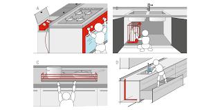 les enfants en cuisine sécurité des enfants dans la cuisine plans valcucine