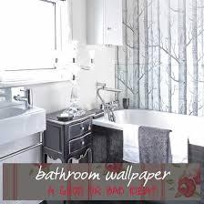 Exellent Bathroom Wallpaper On Decor - Designer bathroom wallpaper
