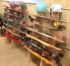 Skateboard Shelf Skateboard Racks Skateboard Wall Mount Skateboard Racks For Home