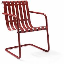 Retro Metal Patio Furniture - crosley furniture gracie retro spring chair walmart com