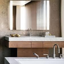 Modern Bathroom Vanity Mirror - bathroom interesting lighted makeup mirror with switch plate
