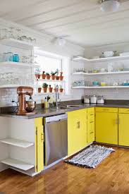 Kitchens With Yellow Cabinets 15 Colorful Kitchens You U0027ll Wish Were Yours Valspar Kitchens