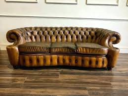 Distressed Chesterfield Sofa Chesterfield Sofa For Sale Pair Monumental Distressed Leather