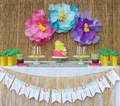 Innovative Hawaiian Decorations For Birthday Party Fresh In