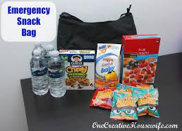 Kids Emergency Room by One Creative Housewife Emergency Snack Bag