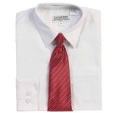 george boys packaged dress shirt with black tie walmart com