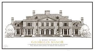 Mansion Plans Stephen Fuller Designs High Style Georgian Manor