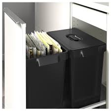 How To Recycle Ikea Furniture by Variera Recycling Bin Ikea