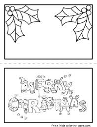 christmas card printable coloring pages for kidsfree printable