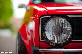 audi r8 headlights volkswagen rabbit mk1 custom audi r8 brilliant red custom