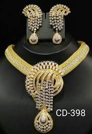 cubic zirconia necklace sets images Cubic zirconia necklace set jpg