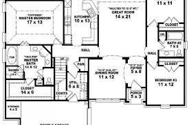 split floor plan house plans 653887 3 bedroom 2 bath split floor plan house plans open small