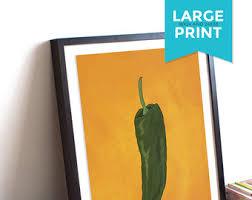 Chili Pepper Kitchen Rugs Chili Pepper Print Etsy