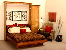 Bedroom Furniture Sets Living Spaces Bedroom Have Much Free Space With Cool Murphy Bed Designs