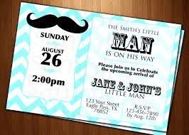 7 best images of mustache baby shower invitation cards free