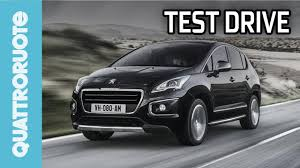peugeot 4 by 4 peugeot 3008 hybrid4 2014 test drive youtube