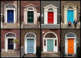 best 25 house front doors painted with bright color ideas on