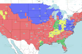 Maps Indianapolis Jaguars Vs Colts Week 7 Tv Viewing Map On Cbs Big Cat Country