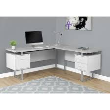 Corner Desk Darroll L Shape Corner Desk Reviews Allmodern