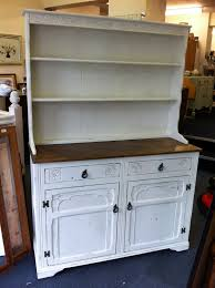 welsh dresser painted in annie sloan old white distressed u0026and