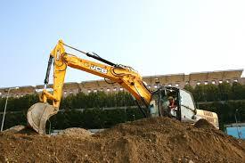 it u0027s an italian job for jcb excavators at the san siro metro terminal