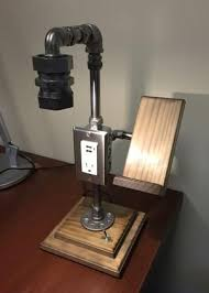Steel Pipe Desk by Best 20 Pipe Lamp Ideas On Pinterest Lamp Switch Old Fashioned