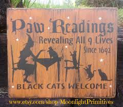 halloween wood signs u2013 festival collections