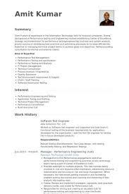 Failure Analysis Engineer Resume Test Engineer Resume Test Engineer Resume Samples Visualcv Resume