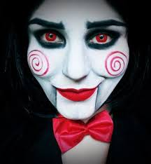 Crazy Woman Halloween Costume 25 Jigsaw Costume Ideas Jigsaw Makeup Jigsaw