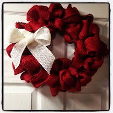 burlap wreath add a small