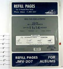 pioneer photo album refill pages pioneer refill pages for jmv 207 albums for x pando post style