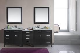 bathroom cool floor with bathtub and white vanity ideas choosing