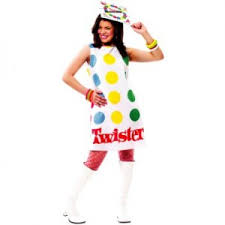 twister plus size costume for women board game costumes 2013