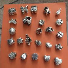 silver jewelry charm bracelet images Pandora 3 for 10 silver charms for bracelets from christie 39 s jpg