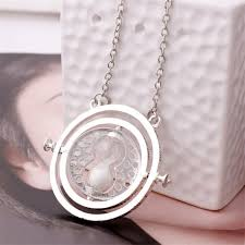 chain necklace woman images Vintage rotating horcrux harry potter time turner necklace time jpg