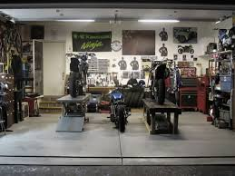 bike workshop ideas excellent motorcycle garage ideas photos best inspiration home
