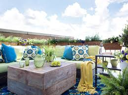 Outdoor Furniture For Small Spaces by 10 Ways To Make The Most Of Your Tiny Outdoor Space Hgtv U0027s