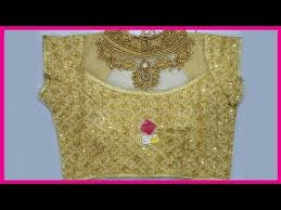 readymade blouse golden heavy work readymade blouse collections golden
